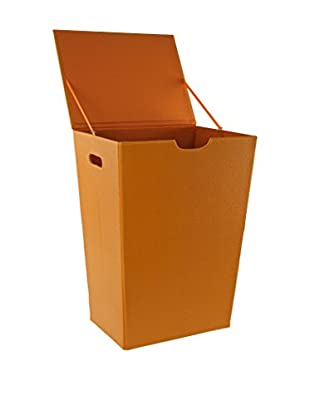Nameek's Ailanto Colour Laundry Hamper, Orange