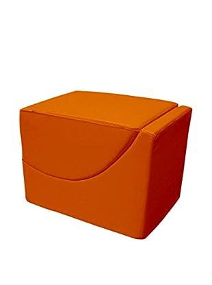 13 Casa Pouf Chaise Longue F00040902021 orange