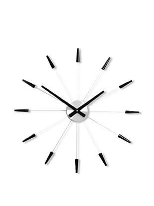 NeXtime Plug Inn Wall Clock (Black)