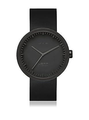 LEFF Amsterdam Reloj con movimiento Miyota Unisex Tube Watch D42 Negro 42 mm