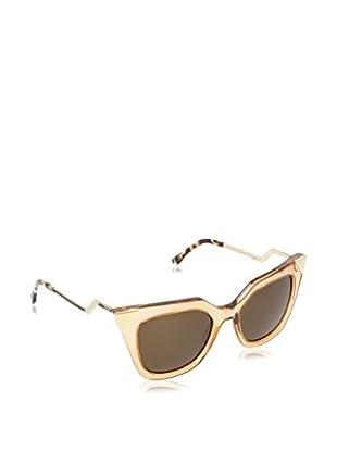 FENDI Gafas de Sol 0060/S ECMSY52 (52 mm) Dorado