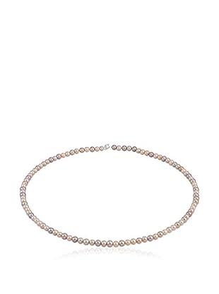 Compagnie générale des perles Collar plata de ley 925 milésimas