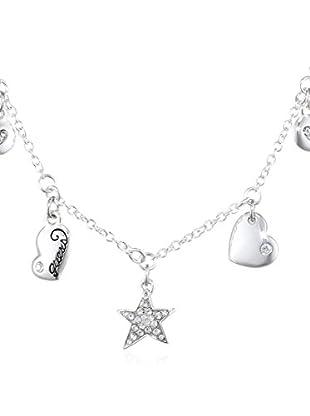 Guess Halskette UBN81055 Sterling-Silber 925