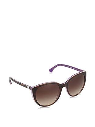 EMPORIO ARMANI Sonnenbrille 4043 (55 mm) havanna/flieder