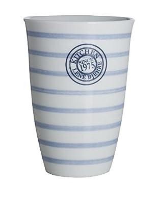 Lene Bjerre Molly Large White & Light Blue Mug