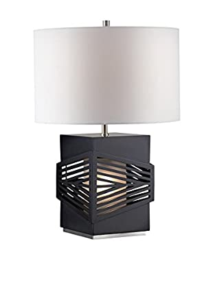 Nova Lighting Redact Table Lamp, Dark Brown