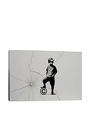 Banksy Copyrights Are For Losers Gallery Wrapped Canvas Print