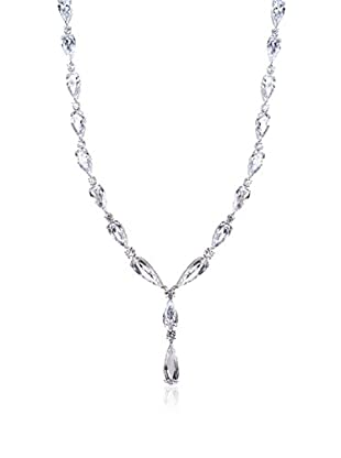 CZ BY KENNETH JAY LANE Collar Elongated Pear