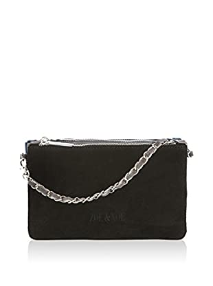 ZOE & NOE Henkeltasche Zn.Ross001Cam_Black/Dark Grey/Jeans