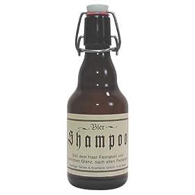 ビールシャンプー