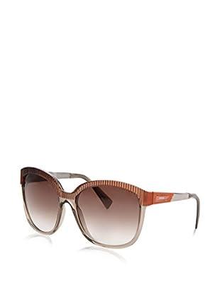 Diesel Sonnenbrille Die-S Ds 0222 79Z 58Js (58 mm) braun/grau