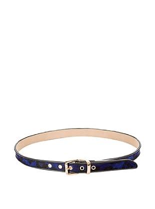 Cortefiel Cinturón Potro (Azul Marino)