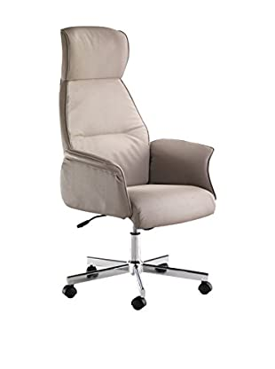 Contemporary Office Silla De Oficina Penty Taupe