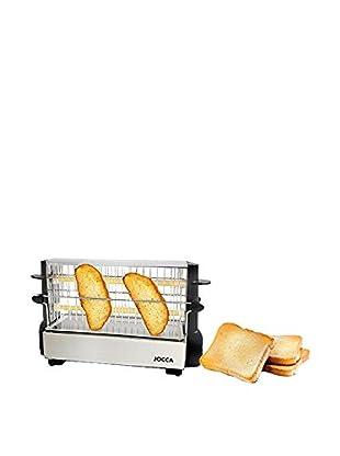 JOCCA Toaster 5918 schwarz/silberfarben