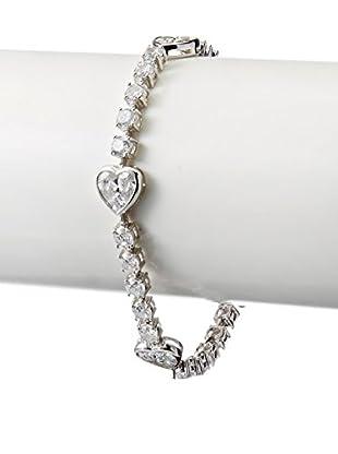 CZ by Kenneth Jay Lane Hearts Galore CZ Stations Bracelet