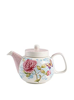 Villeroy & Boch Rose Cottage 20-Oz. Teapot, Pink/White