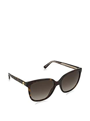 Gucci Sonnenbrille 3819/ S HA KCL (55 mm) havanna