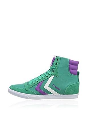 Hummel Sneaker Slimmer Stadil High (smaragd)
