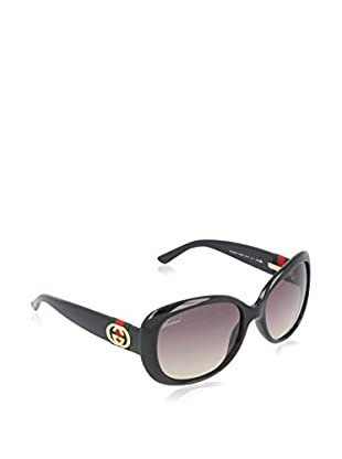 GUCCI Gafas de Sol Polarized 3644/S ED (56 mm) Negro