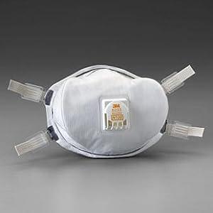 3M スリーエム 8233 N100 防塵マスク 世界最高水準(99.9%以上の捕集効率)5枚 放射能物質対応
