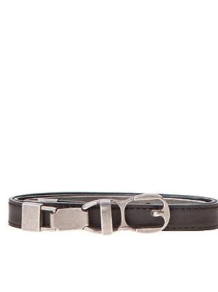 Javier Simorra Cinturón Metalicbelt (negro)