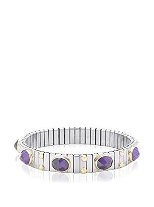 Nomination Armband  silber/violett