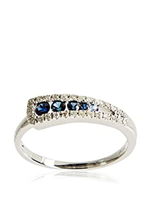 PARIS VENDÔME Anillo Intense Blue D