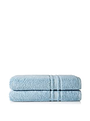 Baltic Linen Oversize 2-Piece Towel Set, Serenity Blue