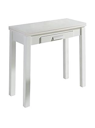 KITCHEN FURNITURE & DECO HOME Ausziehbarer Tisch weiß