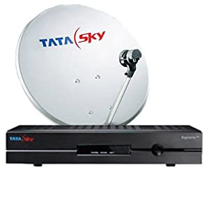Tata Sky SD Set Top Box with 1 month Dhamaal Mix FREE