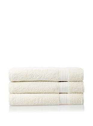 Chortex 3-Piece New Savannah Bath Sheet Set, Cream