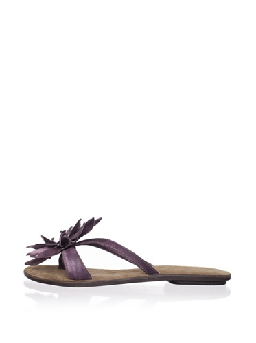 Chocolat Blu Women's Tess Thong Sandal (eggplant)