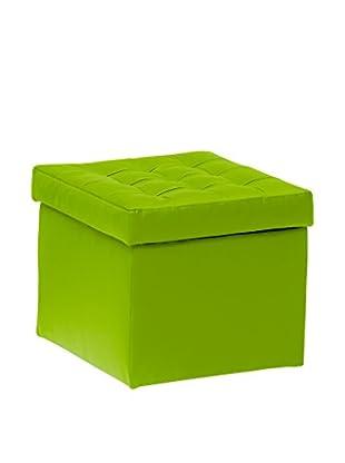 Unokids Hocker mit Stauraum Toy A11 grün