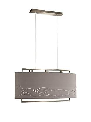 Massive Lámpara De Suspensión LED Keya Acero