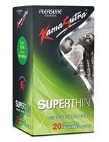 Kamasutra Superthin - 20 Condoms (Pack of 2)