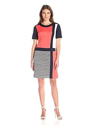 Sandra Darren Women's Colorblock Sheath Dress