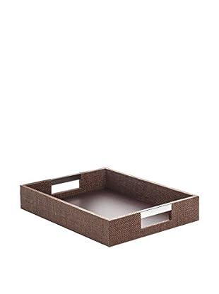 Braid Concept Tablett braun