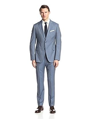 Armani Collezioni Men's Herringbone Suit