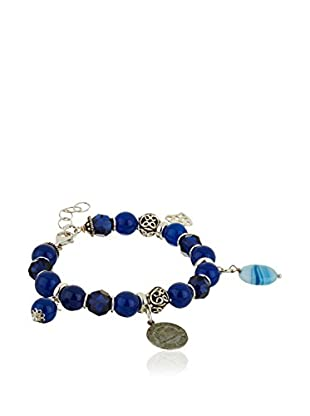 My Silver Pulsera Sweet Blue