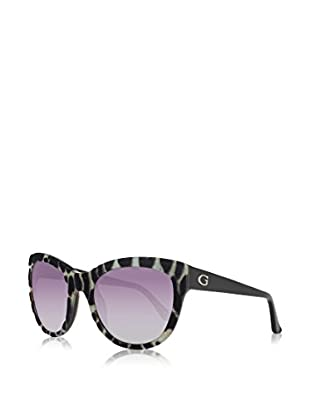 Guess Sonnenbrille GU7429 5605B (56 mm) grau/dunkelbraun