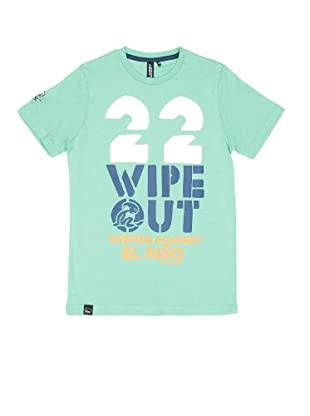 El Niño Camiseta Manga Corta Wipe Out (Verde)