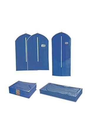 JOCCA Aufbewahrungssystem 5 tlg. Set Or555A blau
