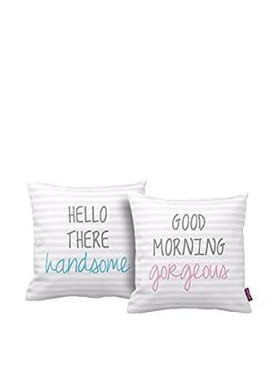 Your Living Room Abwaschbares Kissen 2er Set