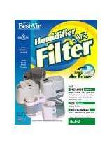 Rps Products ALL-2 Extended Life Universal Humidifier Wick Filter - Quantity 6