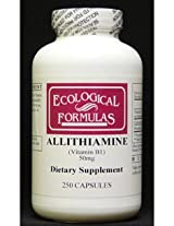 Allithiamine 50 mg 250 caps by Ecological Formulas