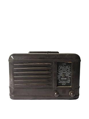 1960s Vintage Packard Bell Radio, Brown/Black