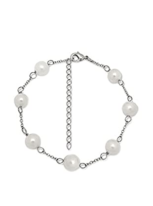 Pearls of London Armband  weiß