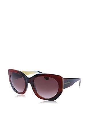 Balenciaga Sonnenbrille BA0017 20 140 47T (57 mm) dunkelrot