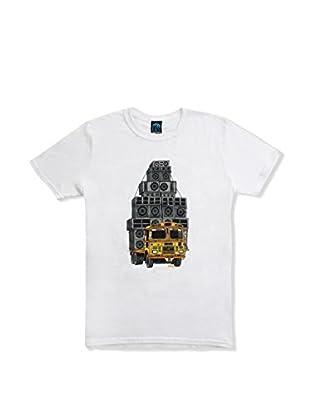 DEPHECT Camiseta Manga Corta Sound System