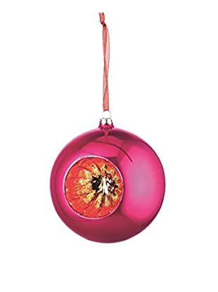 Napa Home & Garden Glass Reflector Ball, Fuchsia